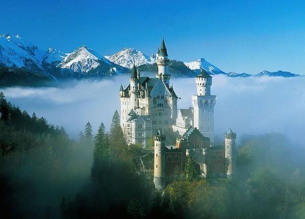 第1名德國新天鵝城堡
