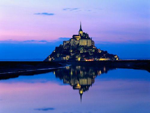 第2名法國聖蜜雪兒山城堡