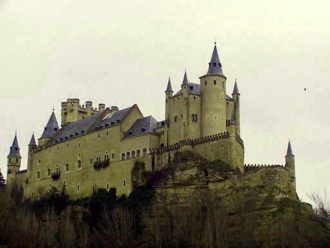 第7名西班牙塞哥維亞城堡