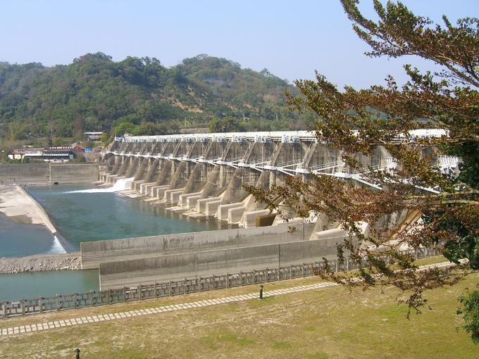 921後的石岡水壩