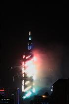 101焰火--中華民國100年新的希望--祥龍盤旋