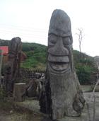 渡假村   人工雕刻造景