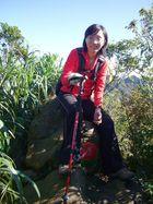 攀登皇帝殿山西峰之美女技師